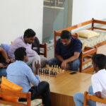 Students Playing Indoor Game, MYRA School of Business