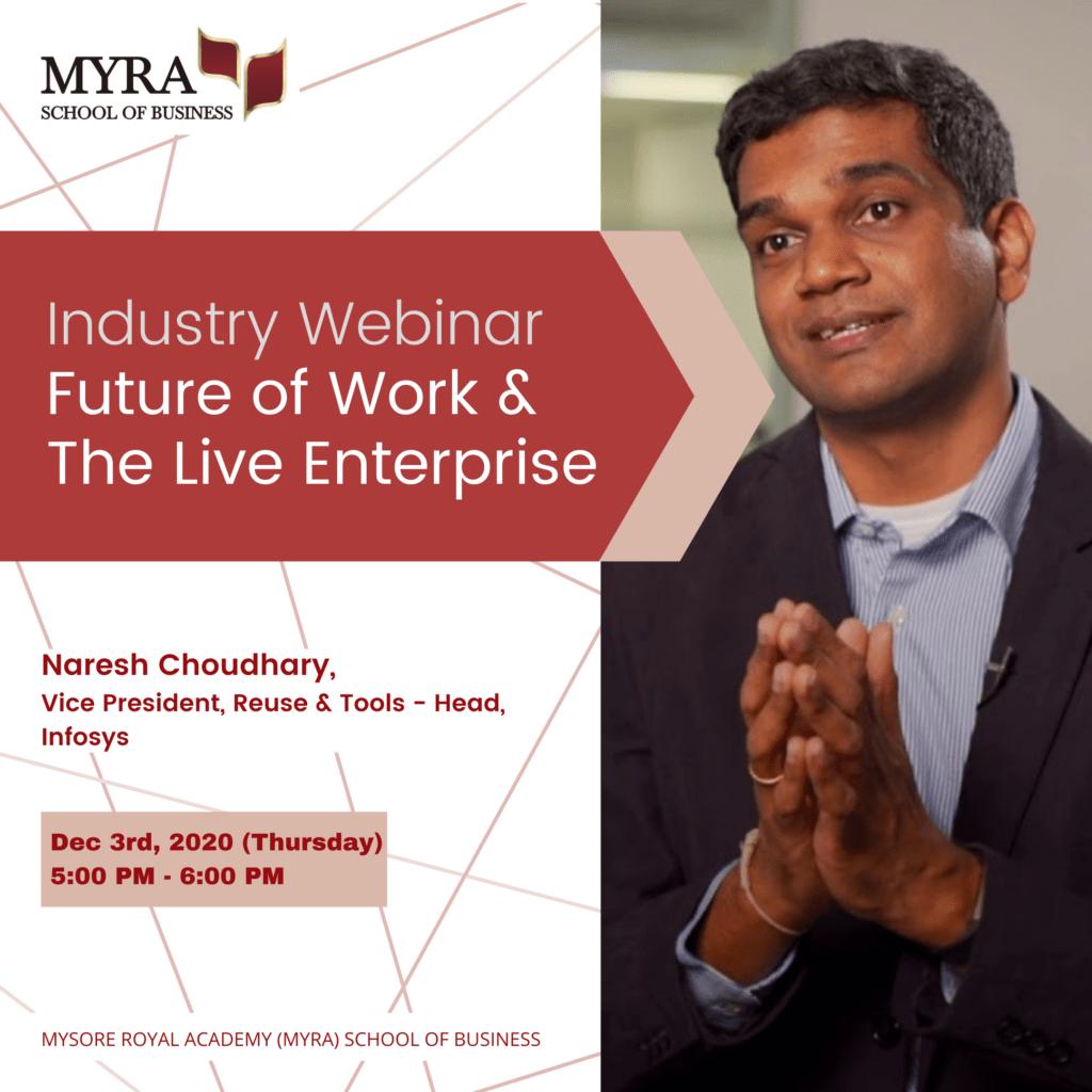 Naresh Choudhary, Vice President, Reuse & Tools – Head, Infosys Ltd.