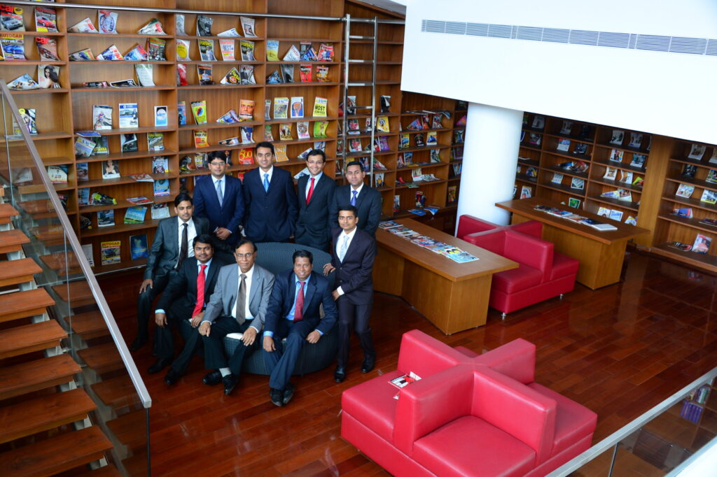 Library, MYRA School of Business, Mysore Royal Academy