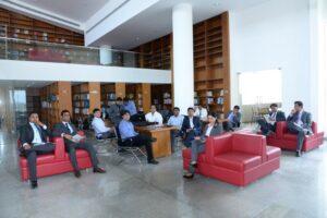 Library, MYRA School of Business, Mysore Royal Academy